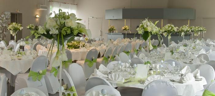 R ception - Decoration florale mariage centre de table ...